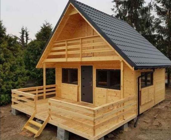 Vand case pe structura metalica sau de lemn