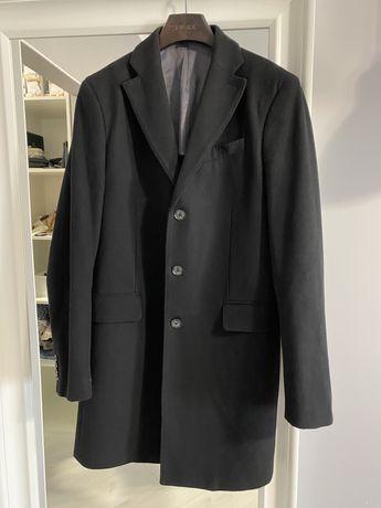 Пальто мужское размер m (шерсть, тонкое)