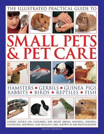 Carte despre cresterea de animalute mici hamsteri, pesti, reptile