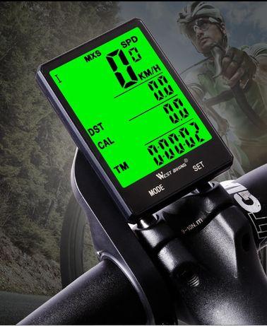 Calculator bicicleta wireless West Biking vitezometru