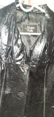 Кожаный свингер куртка