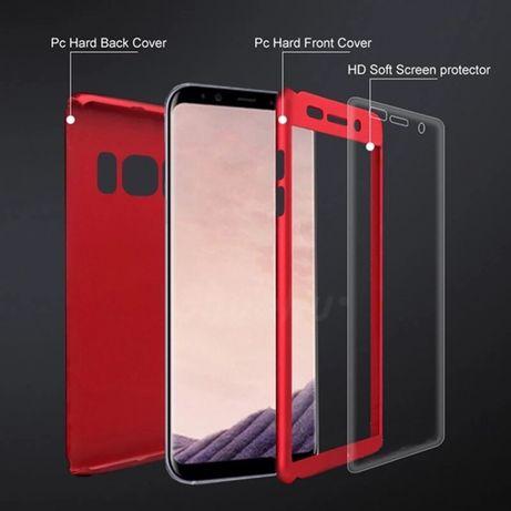 Husa / carcasa 360 gama Samsung S7, S8, S9, S10, S20, Plus, E, Ultra
