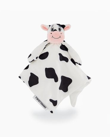 Мека играчка за гушкане крава Twistshake