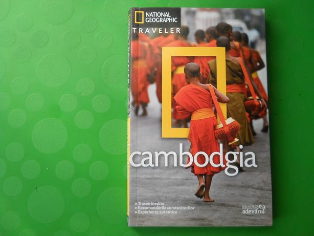 Ghid turistic CAMBODGIA-National Geographic
