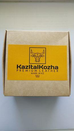 Ремень мужской. Ер белдік. KazItalKozha Premium Leather