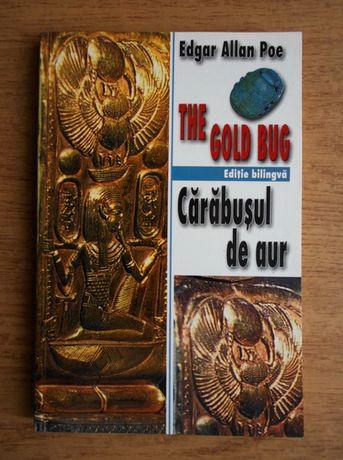 carte bilingva romana engleza Carabusul de aur