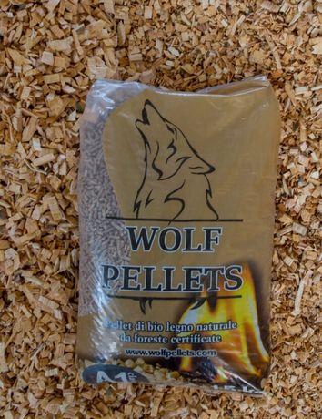 Пелети WOLF PELLETS клас А1
