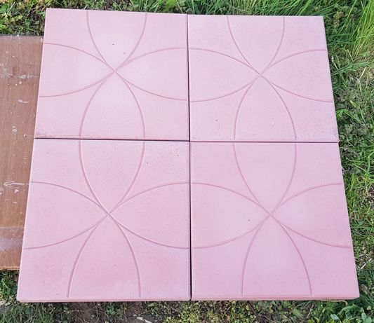 Dale pavaj beton rosu