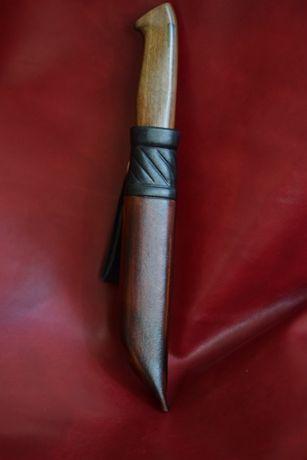 Кания за нож от естествена кожа