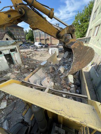 Excavari demolari constructii drumuri poduri inchirieri utilaje