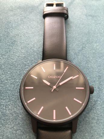 Ceas de mana Oozoo Colorful 45 mm negru/ roz, tipul C10383