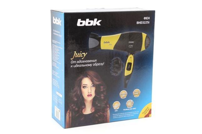 Фен для волос BBK Juicy, профессиональный, оригинал
