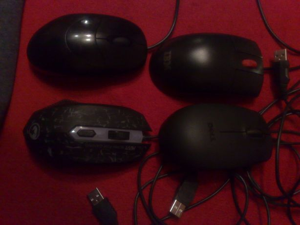 4 Mouse IBM Dell Marvo Logitech gaming