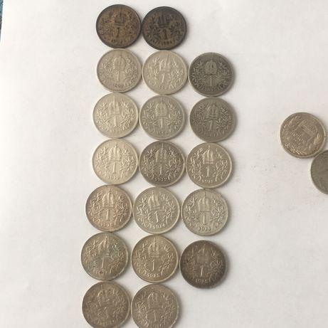 Lot 36 koroane argint