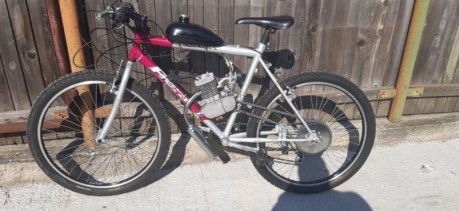 Biciclete cu motor 2Timpi pe benzina !