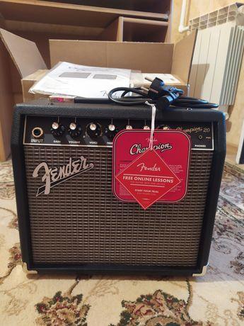 Комбоусилитель Fender Champion 20, абсолютно новый.