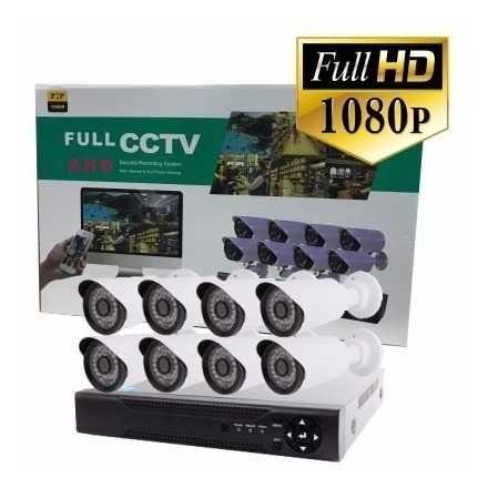 4 или 8 канална система DVR + AHD КАМЕРИ / HD CCTV, видеонаблюдение