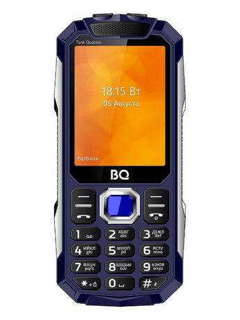 Мобил телефон с 4 сим картами BQ TANK новый в упаковке