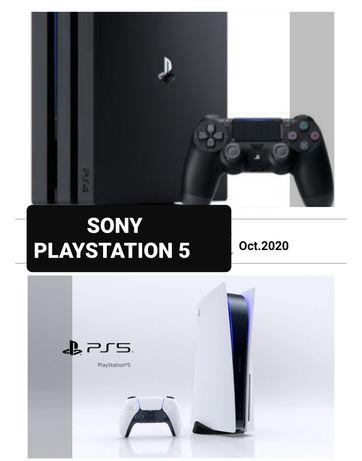 Ремонт на Sony плейстейшън  конзоли 4, 5 и джойстици
