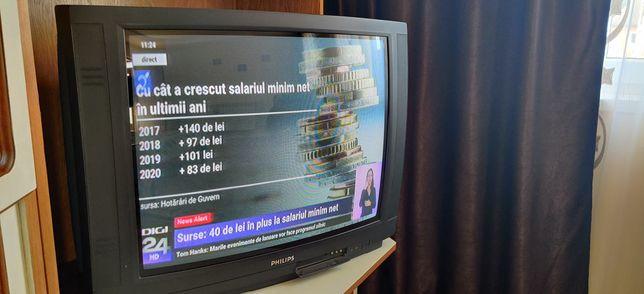 Vand tv philips cu diagonala de 70cm in stare perfecta.