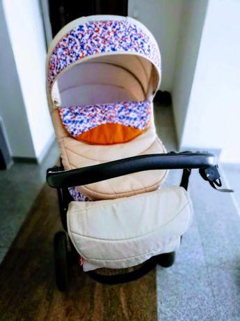 Детска количка buba solo 3в1 Бежова