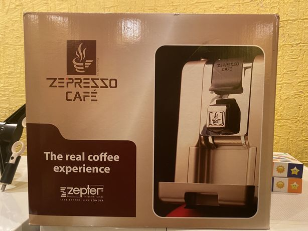 Кофемашина Zepter ZE-PRESSO CAFE