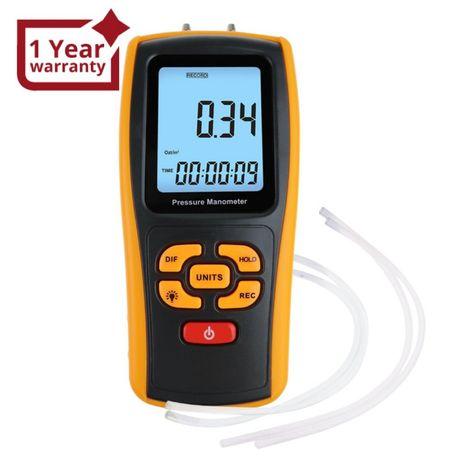 MAN-277 Цифров манометър за диференциално налягане