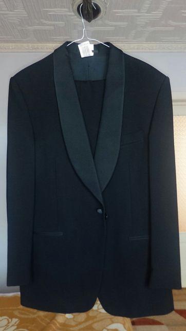 Smoking Seroussi marimea 50 negru - costum sacou + pantalon