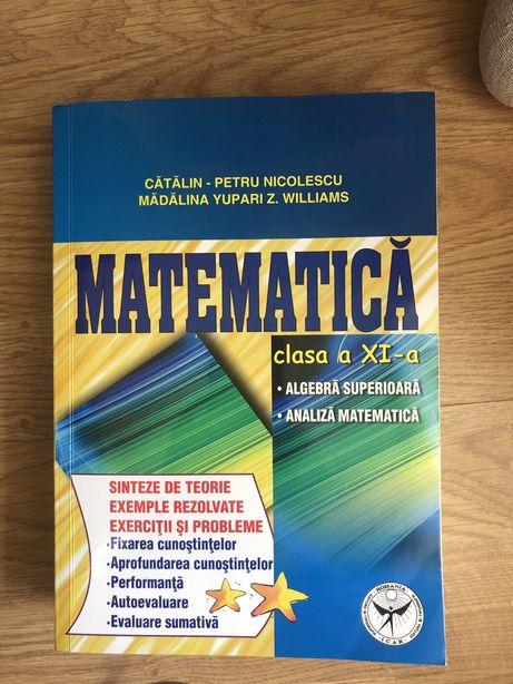 culegeri matematica M1 clasele 9-11 + memorator 9-12