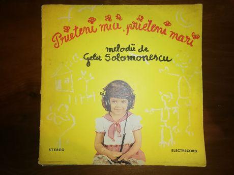 Disc vinil pick up melodii Gelu Solomonescu