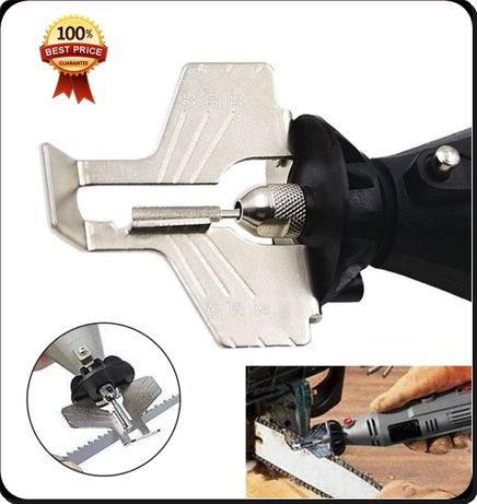 Уред за заточване на вериги точило приставка за точене за резачка