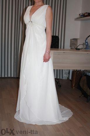 булчинска-сватбена рокля-необличана. Възможна е размяна за нещо