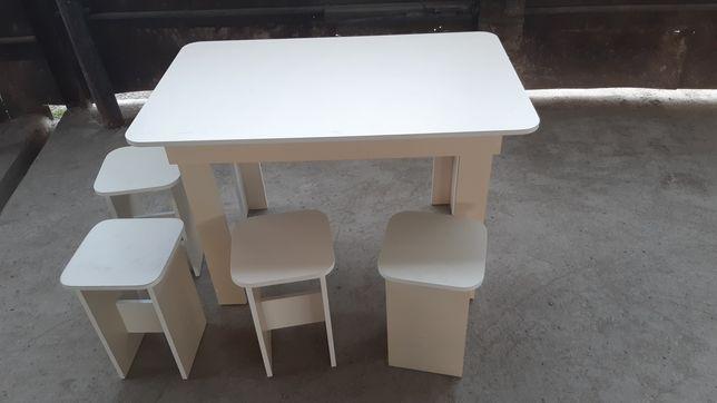 Кухонный Стол с стульями 1,20/0,70+4 таб,ЛДСП МЕБЕЛЬ