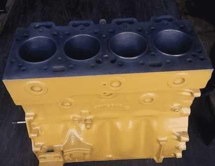 Bloc motor pentru buldoexcavator Caterpillar