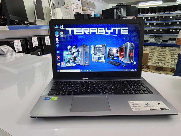 "Ноутбук ASUS N3060 Cel/1 Gb 810M/4Gb/500Gb Kaspi RED!""TERABYTE"""