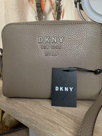 Geanta crossbody DKNY piele
