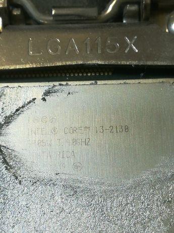 Kit placa de baza cu procesor i3 2130 + 4 gb memorie. Bonus radiator.