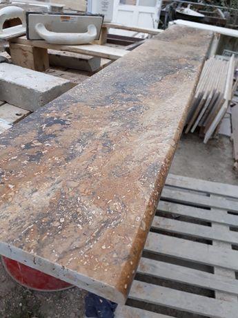 Vând Travertin Marmura alba cu gri,Granit (placaj,pervaze,scări)