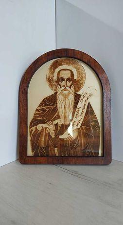 Гравирана икона на свети Иван Рилски
