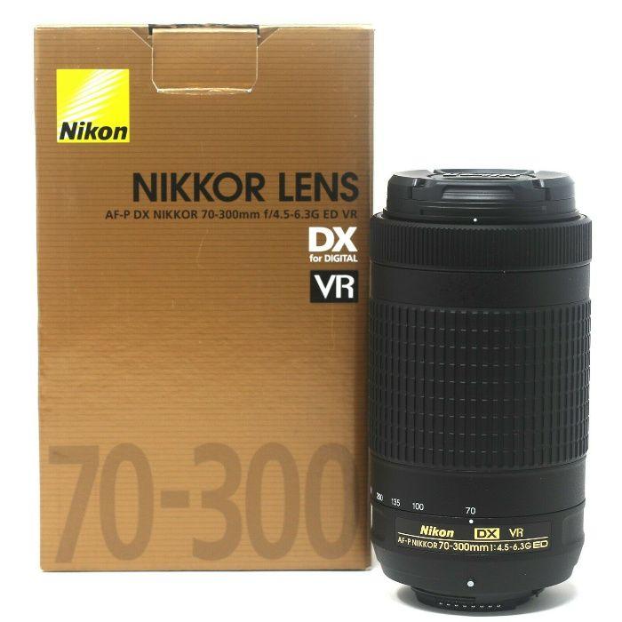 Obiectiv DSLR Nikon AF-P DX NIKKOR 70-300mm f/4.5-6.3G ED VR SIGILAT!