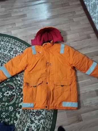 Спец куртка теплая.
