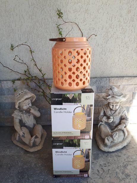 Suport ceramic lumanari/decoratiune