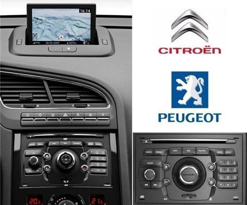 Peugeot 308 3008 5008 RCZ DVD harti navigatie Full Europa 2021