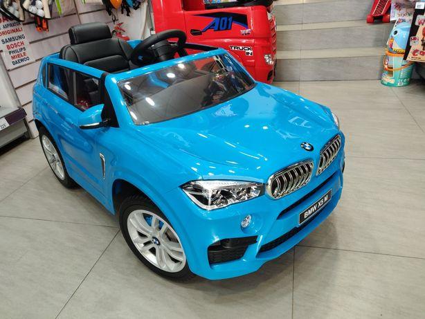 Masinuta Electrica BMW X5M model 2020 cu Roti Spuma Eva, scaun piele