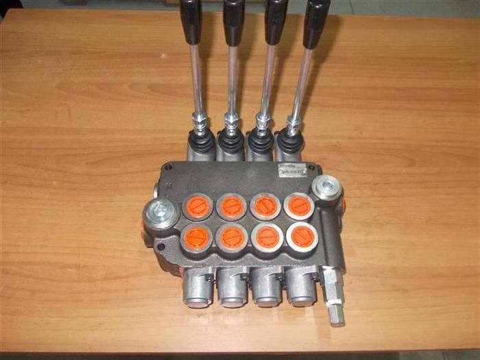 Distribuitor hidraulic 80 litri 4-5-6 manete tractoare forestale Galati - imagine 1