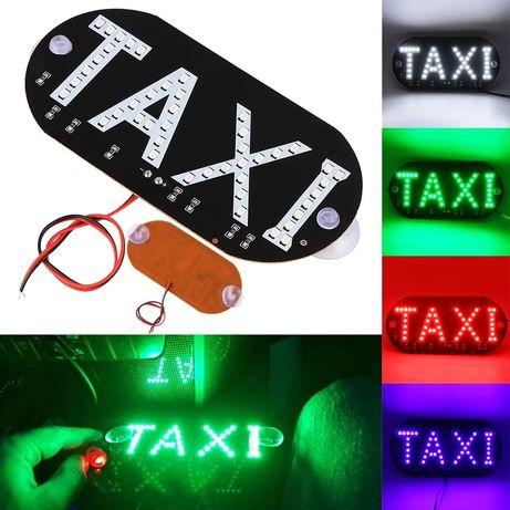 """Sigla """"TAXI"""" led"""