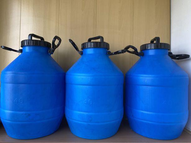 Герметичная фляга 40 литров (канистра, бочка)