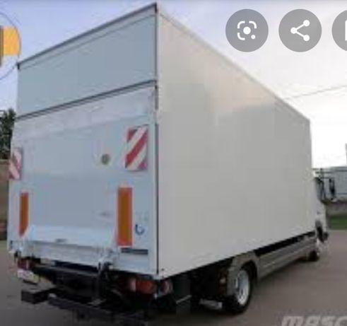 Грузоперевозки на Merc 6 м кузов 1, 3 тонн, 5 тонн / гидроборт 36 куб