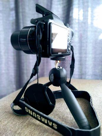 Camera foto Samsung, 16 MP, WI-FI, NFC, ZOOM OPTIC 35x, Trepied-husa