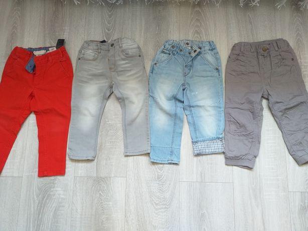 Lot pantaloni, mar. 86-92 H&m, zara, c&a